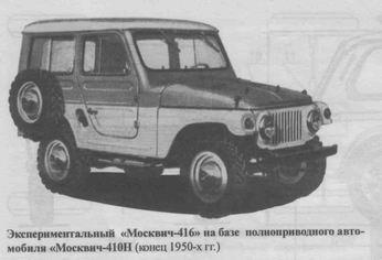 К сожалению, выпуск автомобиля, который мог бы стать первым «штатским» советским джипом,был ограничен лишь двумя десятками опытных экземпляров