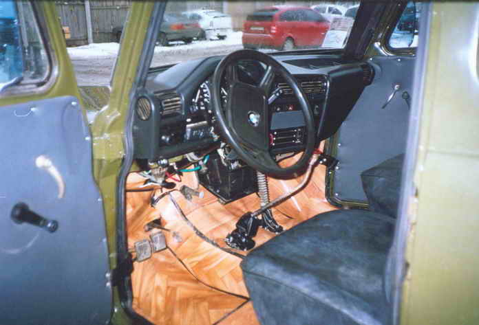 GAZ-69 внутри