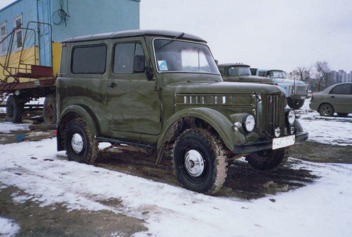 GAZ-69 во всей своей красе...